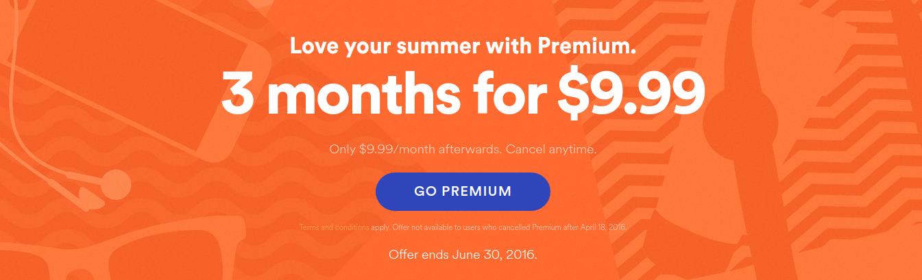 Spotify promo