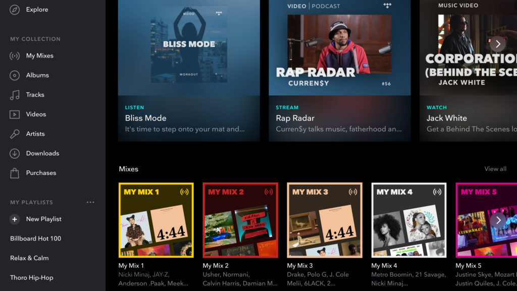 TIDAL launches personalized playlists - Music Business Worldwide